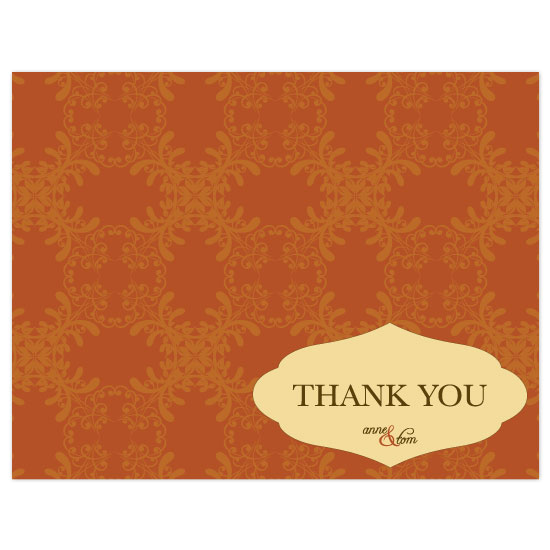 thank you cards - Beautiful Fall by Puppy Love Design