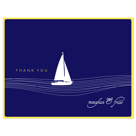 thank you cards - All at Sea by wondereyes