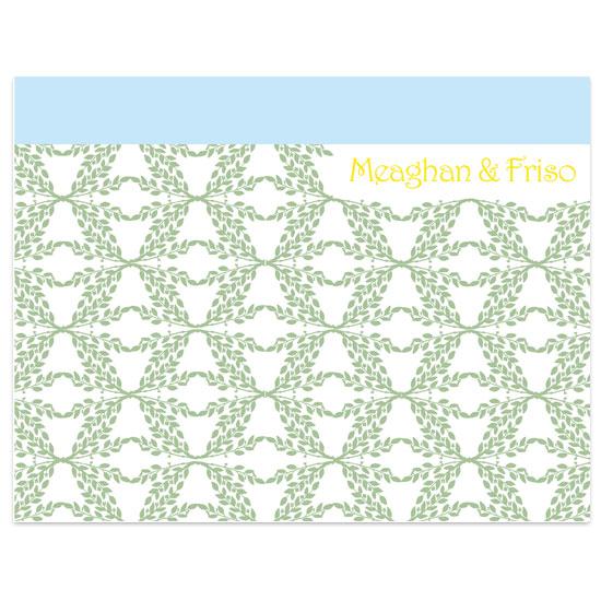 thank you cards - Mediterranean Sky by Elsie Paper Atelier