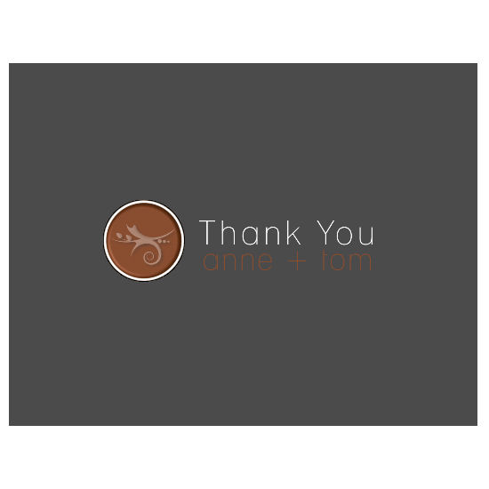 thank you cards - Thank You Dot by Grafik Expressions