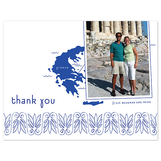 thank you cards - Mediterranean Breeze by Sweet Paper Studio
