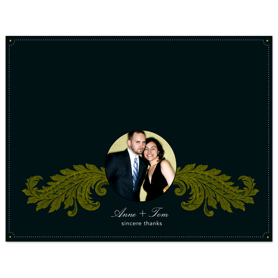 thank you cards - stile classico by wondereyes