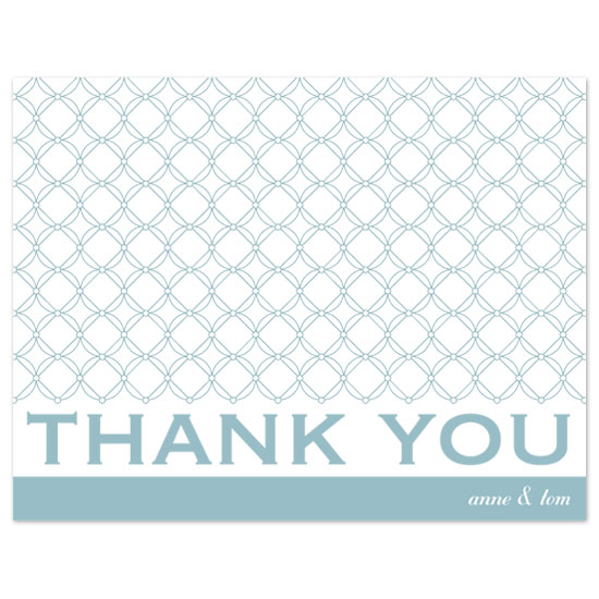 thank you cards - Simple & True by Orange Blossom Ink