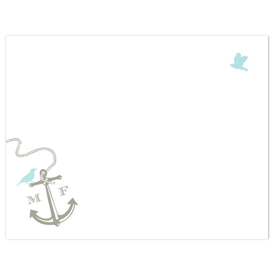 thank you cards - on the water by Megan Irwin
