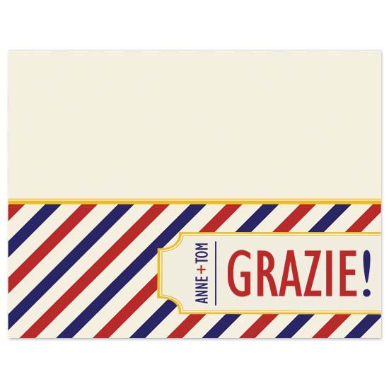 thank you cards - grazie! by annie clark