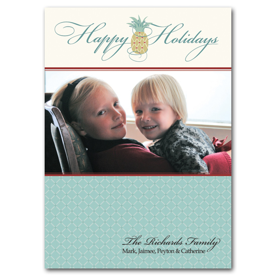 holiday photo cards - Southern Hospitality by Carrie Eckert