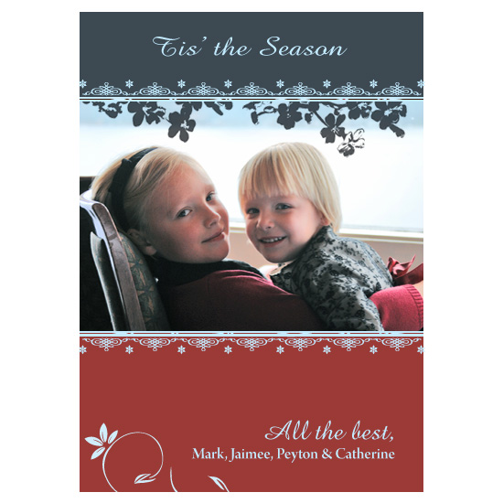 holiday photo cards - Snowflakes by Eric, Birdseye Cards