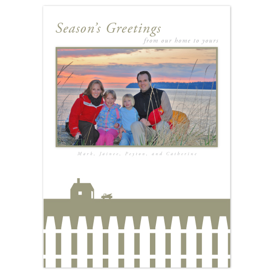 holiday photo cards - Household Greeting by Jeff Sampayan | Design
