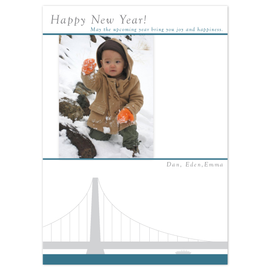 holiday photo cards - Seaside Greetings by Jeff Sampayan | Design