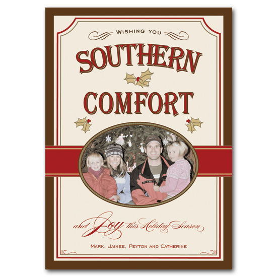 holiday photo cards - Southern Comfort by Carrie Eckert