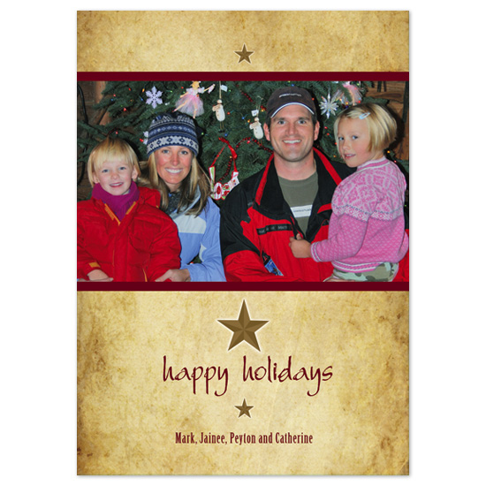 holiday photo cards - Texas Holiday by Molly Brekke