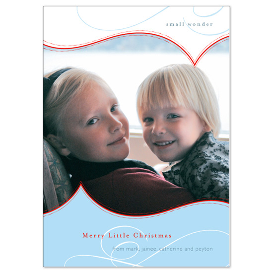 holiday photo cards - small wonder by papermoon