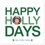 Holly Days by Puppy Love Design
