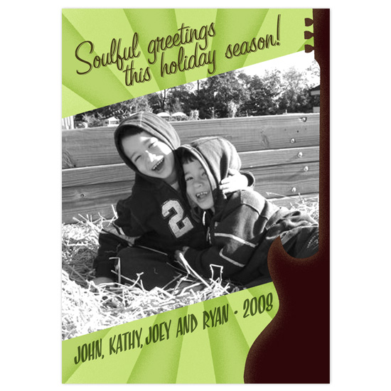 holiday photo cards - City of Soul by Orange Blossom Ink