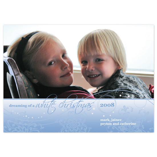 holiday photo cards - White Christmas by Molly Brekke