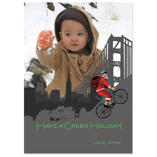holiday photo cards - From SF with Love by Ri.S.K./Little Yeti