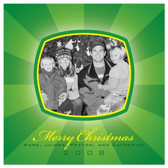 holiday photo cards - Green Christmas by Tara Hanneman