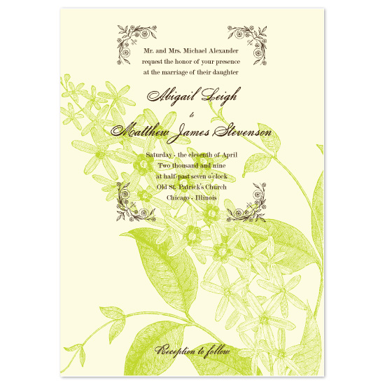 wedding invitations - Spring In Bloom by Sarah Pattison