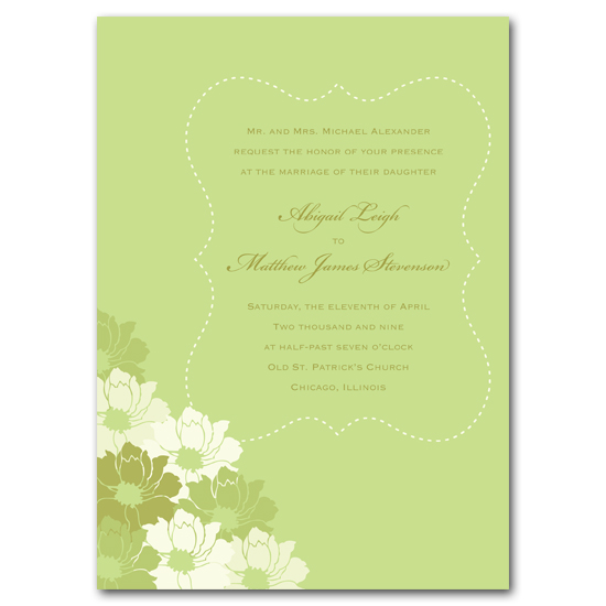 wedding invitations - Spring in Bloom by Carrie Eckert