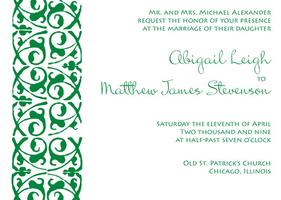 wedding invitations - Side Note by Elsie Paper Atelier