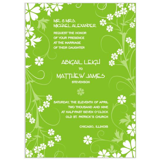 wedding invitations - Valle De Fleurs by Mrs. Kim