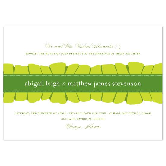 wedding invitations - ruffles by Oscar & Emma