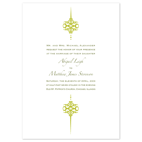 wedding invitations - Motif by Chamelle Designs