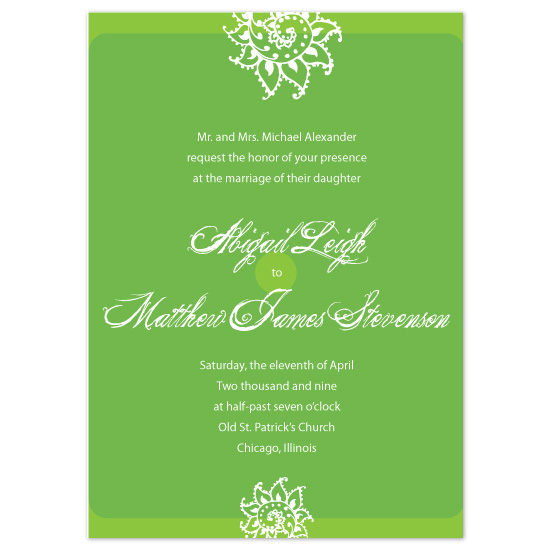 wedding invitations - Royal Floral by Roshni Designs