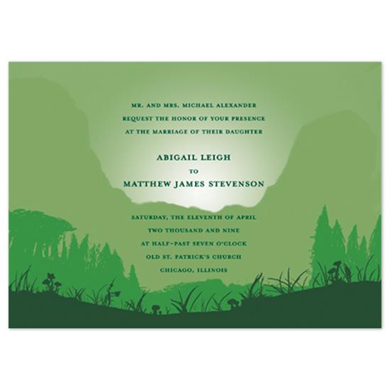 wedding invitations - Graphic Landscape by Ri.S.K./Little Yeti