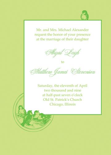 wedding invitations - Fresh Hatch by Jessica's Design Shop