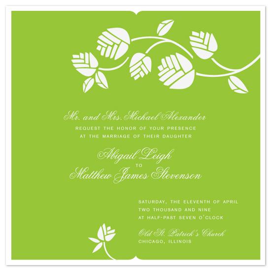 wedding invitations - Fresh Cut by sweet street gals