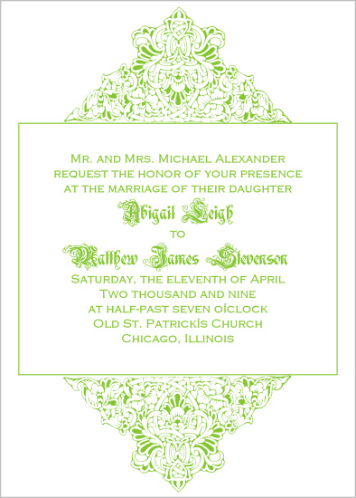 wedding invitations - Boxed In by Bree