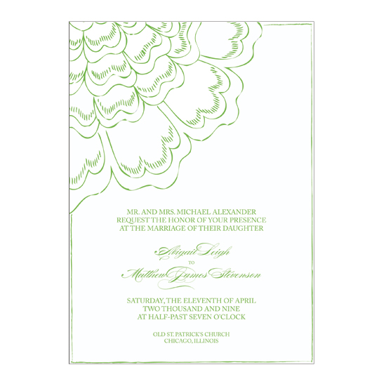 wedding invitations - asymetrical by .cevd.