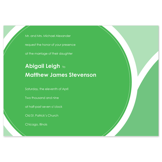 wedding invitations - Bubbles by ariel.body