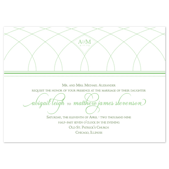 wedding invitations - Greenhouse Chic by Louella Press