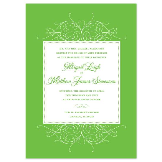 wedding invitations - Regal Flourish by Louella Press
