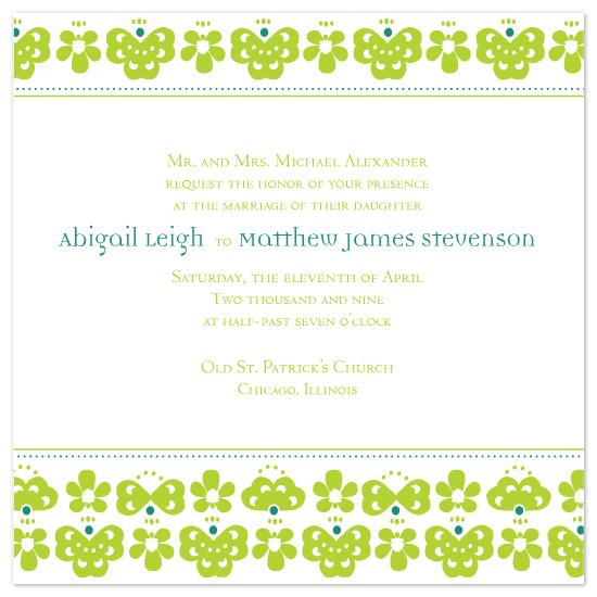 wedding invitations - Vibrant Day by Louella Press