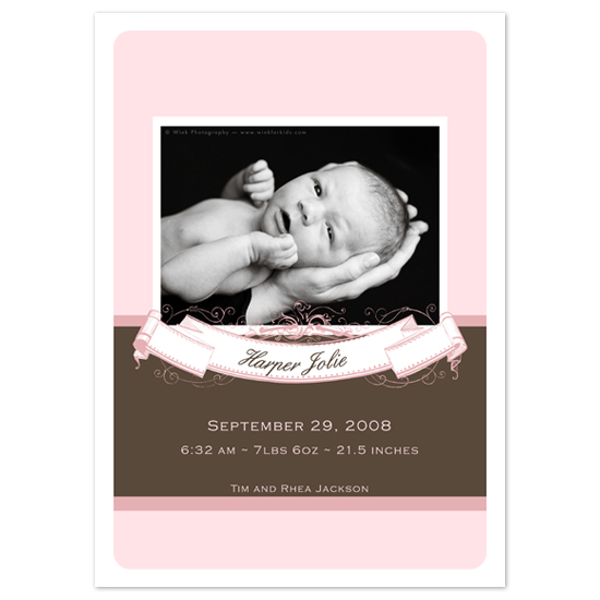birth announcements - banner by SunnyJuly