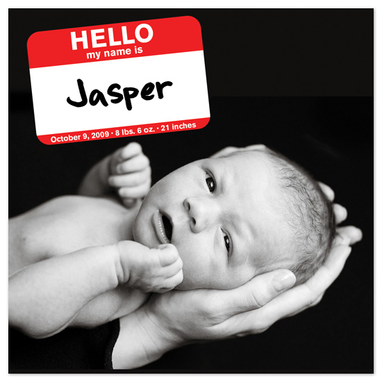 birth announcements - Hello World by Fred Designs