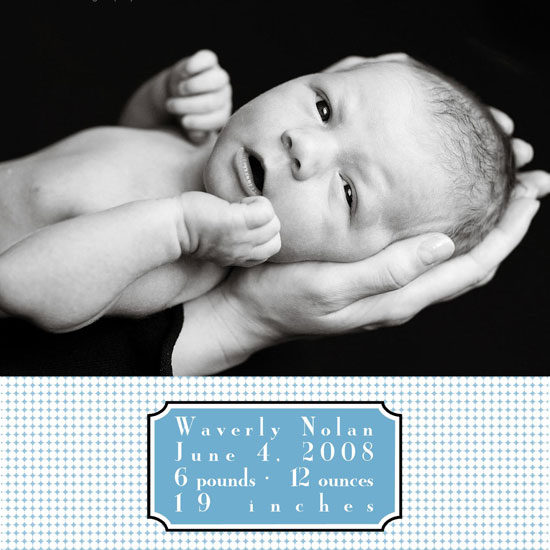 birth announcements - Dots and Dashes by 1st Comes Love... Design