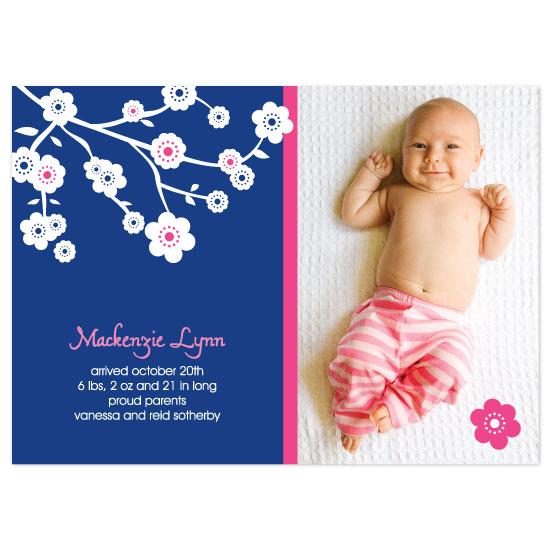 birth announcements - Mackenzie Lynn by Kathleen