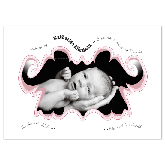 birth announcements - elephant by Napkin Rings and Elephant Ears