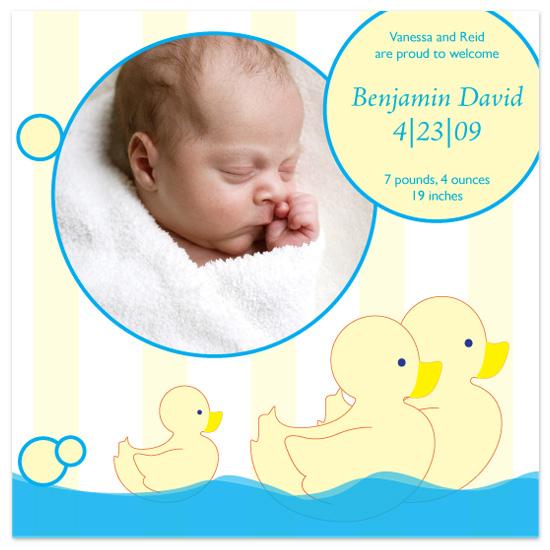birth announcements - Bath Time by l