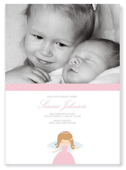 birth announcements - Sweet Angel by Ana Inés Guimaraes