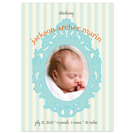 birth announcements - whimsy by Paper Stories