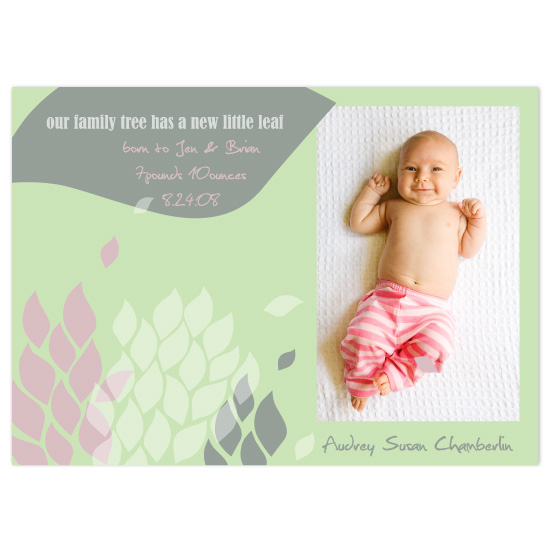 birth announcements - family tree by Eden Z