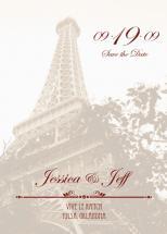 Eiffel Tower by Megan Eileen Designs