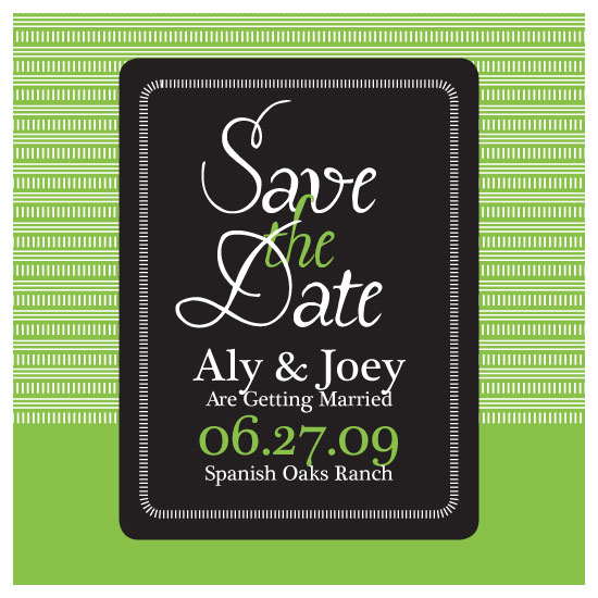 save the date cards - Enchanted Apple by thehouseonbrady
