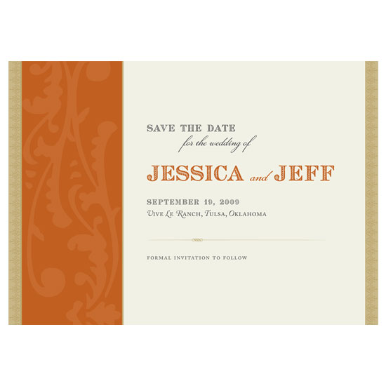 save the date cards - French Rustic 1 by Jennifer Amy Designs