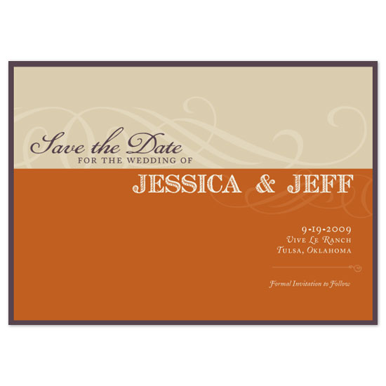 save the date cards - French Rustic 2 by Jennifer Amy Designs